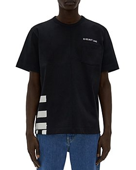 Helmut Lang - Patchwork Split Logo Tee
