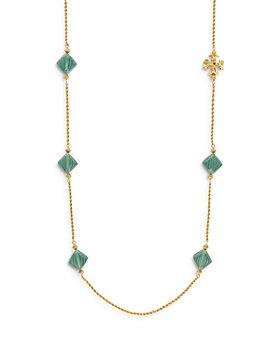 """Tory Burch - Roxanne Long Lariat Necklace, 40"""""""
