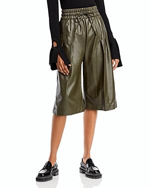 3.1 Phillip Lim Faux Leather Culottes