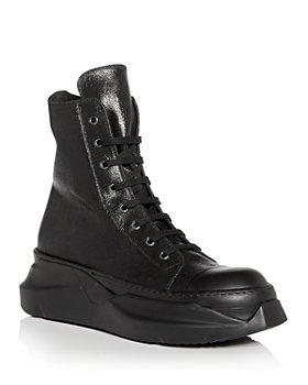 DRKSHDW Rick Owens - Men's Abstract High Top Sneakers