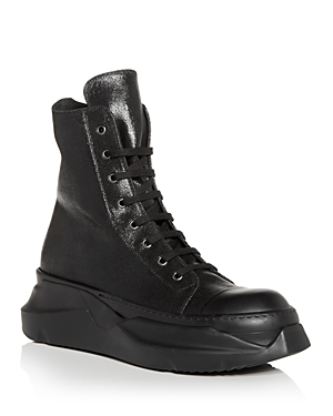 Men's Abstract High Top Sneakers