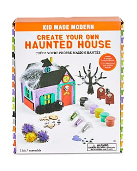 Kid Made Modern - Create Your Own Haunted House Kit - Ages 6+