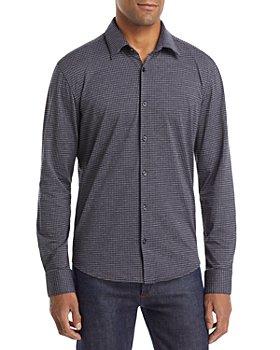 HUGO - Ermo Check Slim Fit Button Down Shirt
