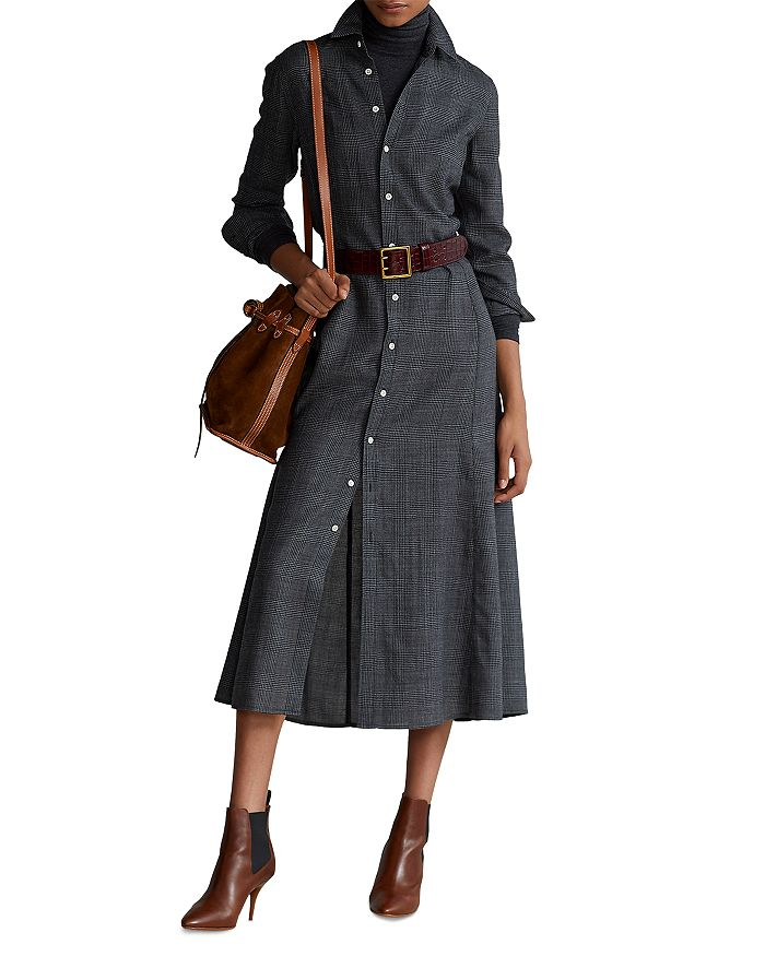 Ralph Lauren - Plaid Shirt Dress