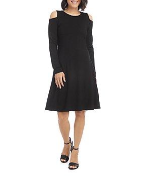 Karen Kane - Cold Shoulder A Line Dress