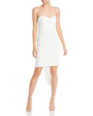 Strapless Bow Back Dress