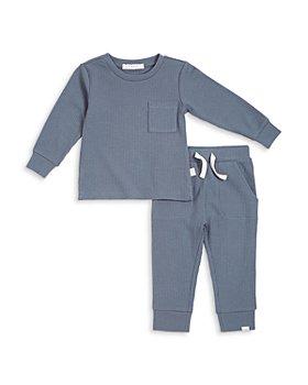 FIRSTS by petit lem - Unisex Rib Knit Set - Baby