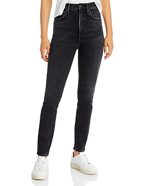 Agolde Pinch Waist Skinny Jeans in Hotline