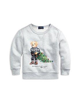 Ralph Lauren - Boys' Holiday Bear Fleece Sweatshirt - Little Kid