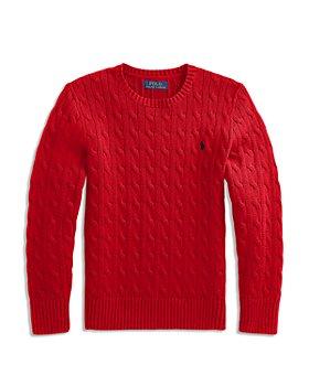 Ralph Lauren - Boys' Cable Knit Cotton Sweater - Big Kid