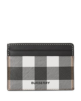 Burberry - Check Card Case