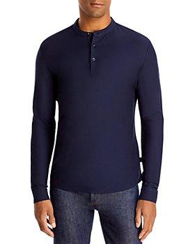 BOSS - Long Sleeve Regular Fit Henley
