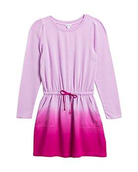 Splendid - Girls' Dip Dye Long Sleeve Dress - Little Kid, Big Kid