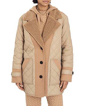Derek Lam 10 Crosby - Amelie Faux Shearling Reversible Jacket