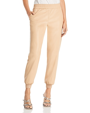 Alice + Olivia Pete Low Rise Faux Leather Pants