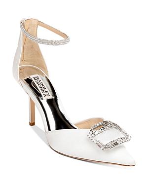 Women's Marlow Pointed Toe Zipper High Heel Pumps