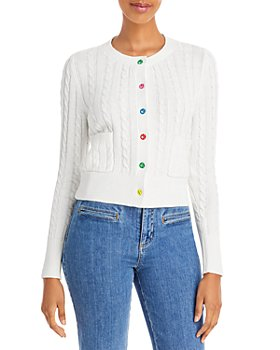 STAUD - Sloan Cable Knit Toggle Cardigan