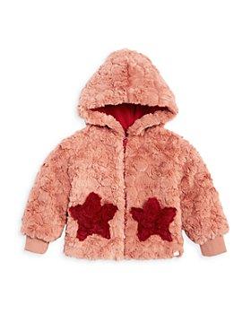 Sovereign Code - Girls' Kirby Teddy Fleece Star Hooded Jacket - Baby