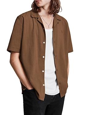 Allsaints Adornos Cotton Camp Shirt