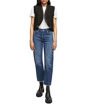 Maje - Viviano Sleeveless Tweed Jacket