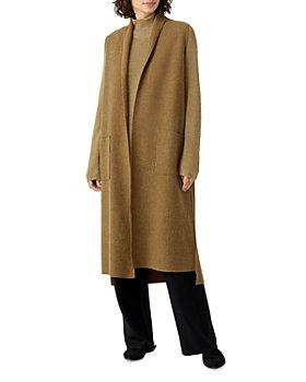 Eileen Fisher - Long Wool Sweater Jacket