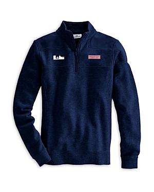 Vineyard Vines Boston Skyline Collegiate Shep Shirt In Vineyard Navy
