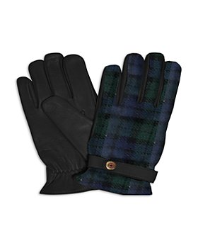 Polo Ralph Lauren - Heritage Thinsulate Tartan & Leather Hybrid Touch Gloves