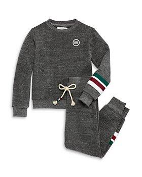 SOL ANGELES - Boys' Holiday Striped Sweatshirt & Jogging Pants - Little Kid, Big Kid - 100% Exclusive