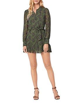 PAIGE - Vittoria Silk Printed Dress