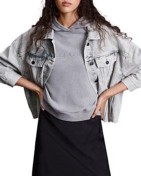 ALLSAINTS - Piper Oversized Denim Jacket