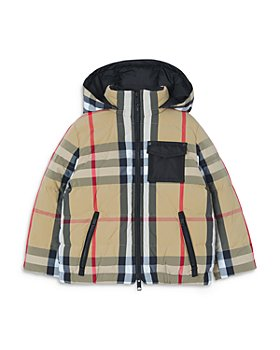 Burberry - Boys' Hester Hooded Puffer Coat - Little Kid, Big Kid