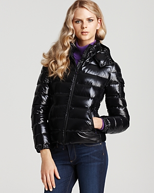 Moncler Short Down Jacket with Hood
