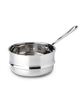 All-Clad - Stainless Steel 3 Quart Universal Double Boiler Insert