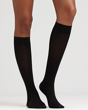 HUE - Soft Opaque Knee Highs
