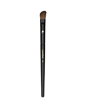 What It Is: This angled, natural-bristled brush is the ideal partner to all Lancome eyeshadows. What It Does: Its slightly rounded edges perfectly apply shadow to the crease and corners of the eye.