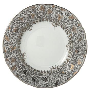 Bernardaud - Eden Platinum Rim Soup