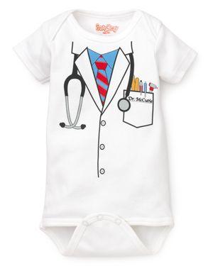 Sara Kety Unisex Doctor Bodysuit - Baby