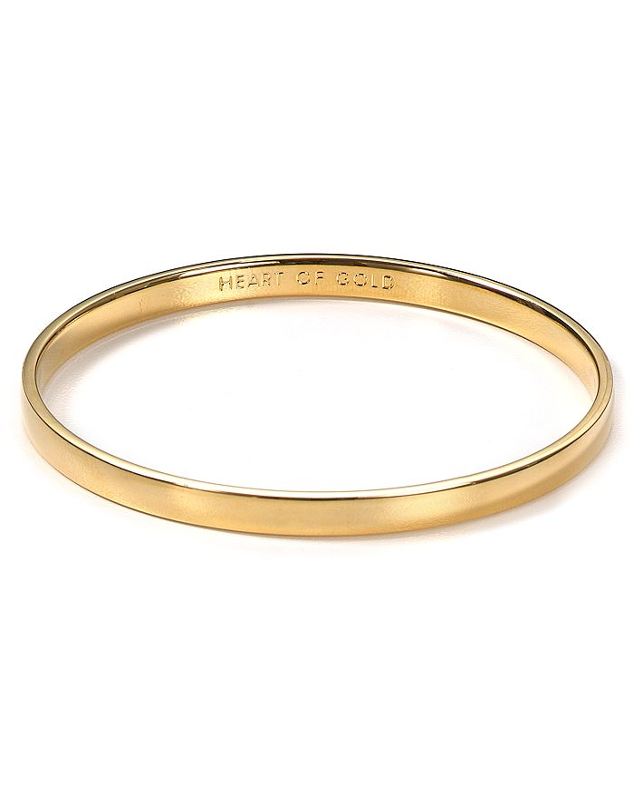 kate spade new york - Idiom Heart of Gold Bangle