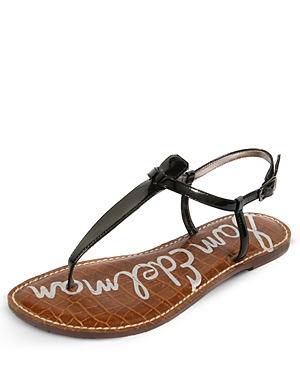Simply chic, these patent sandals are beach-perfect, but so elegant, you can wear them anywhere.