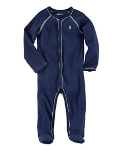 Ralph Lauren Boys' Layette Solid Footie - Baby - Bloomingdale's_0