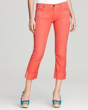 Citizens of Humanity - Dani Crop Skinny Jeans in Mango Tango