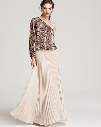 BCBGMAXAZRIA - BCBGMAXAZRIA Top and Skirt