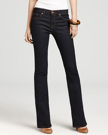 J Brand - Mid Rise Slim Bootcut Jeans in Starless Wash