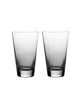 William Yeoward Crystal - Crystal Corinne Beer Tumblers, Set of 2