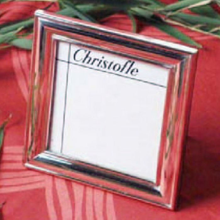 "Christofle - Albi Sterling Silver 5""x7"" Picture Frame by"