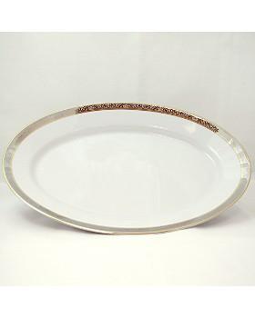"Philippe Deshoulieres - ""Orleans"" Oval Platter"