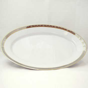 Philippe Deshoulieres - Orleans Oval Platter