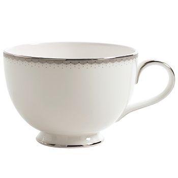 """Monique Lhuillier Waterford - Monique Lhuillier """"Dentelle"""" Tea Cup"""