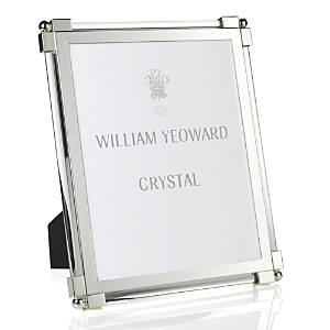 William Yeoward Classic Clear Glass Frame, 8 x 10