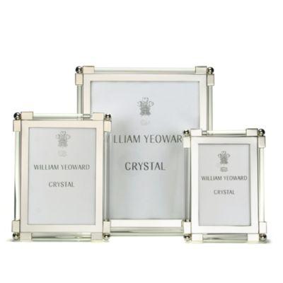 "William Yeoward Classic Clear Glass Frame, 8"" x 10"""